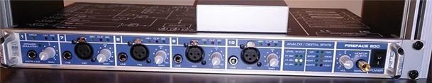 RME Fireface Audio Interface