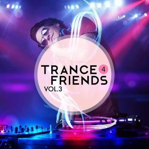 Trance 4 friends vol 3 Album Cover